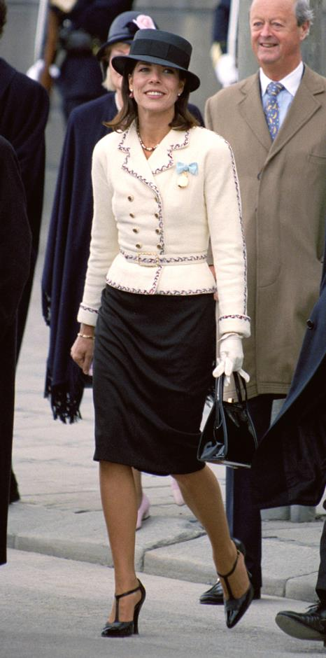 During the celebrations for King Carl Gustav of Sweden's 50th birthday.