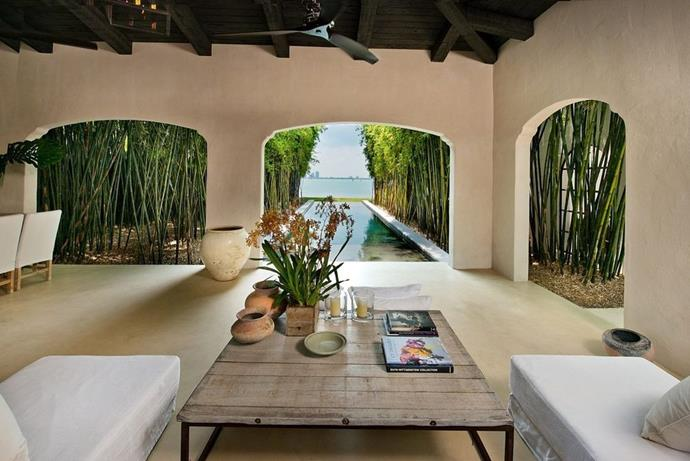 "Take a peek inside Calvin Klein's luxe Miami mansion.<p> <em>Images courtesy of <a href=""https://www.zillow.com/homedetails/4452-N-Bay-Rd-Miami-Beach-FL-33140/43888642_zpid/"">Douglas Elliman</a>.</em>"
