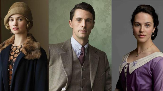 Downton Abbey cast reunite