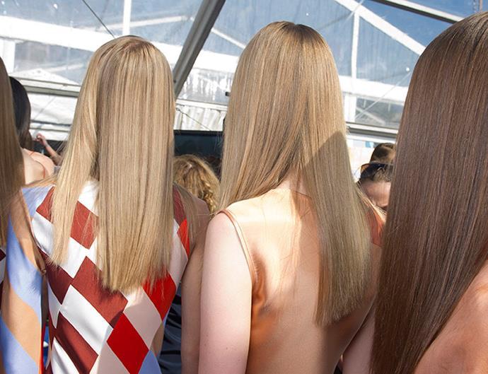 Hair dusting