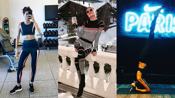 Instagram regularly reminds us what Victoria's Secret models wear to train, but what of super-chic fashion editors and their ilk? Naturally, they take a slightly different approach to athleisure, but it's sure to equally inspire your next gym visit.
