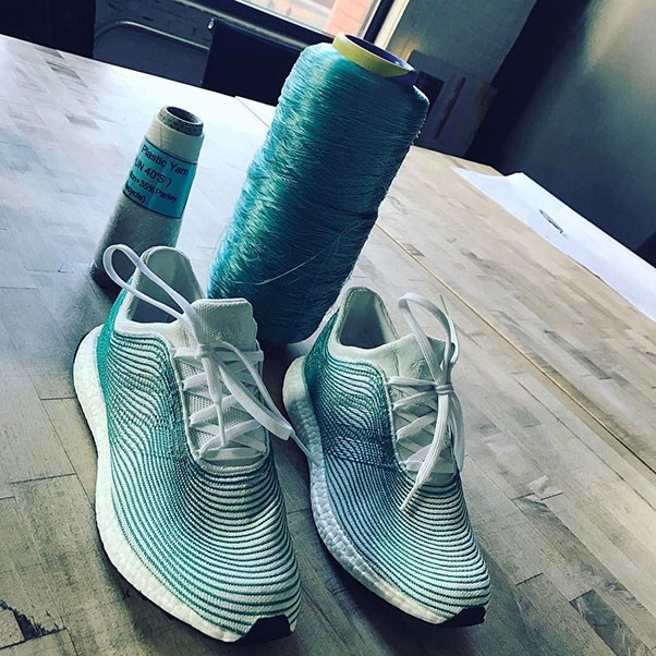 <strong>Miroslava Duma</strong><br><br> The fashion maven recently posted about her love for these Adidas kicks, which are a sustainability-focused collaboration with non-profit Parley for the Oceans.