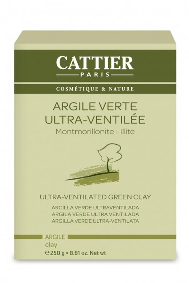 <strong>Cattier Paris Green Clay</strong> <br> <br> Green clay is huge in France. Why? It makes the perfect skin-balancing face mask. Simple and effective for managing oily skin.