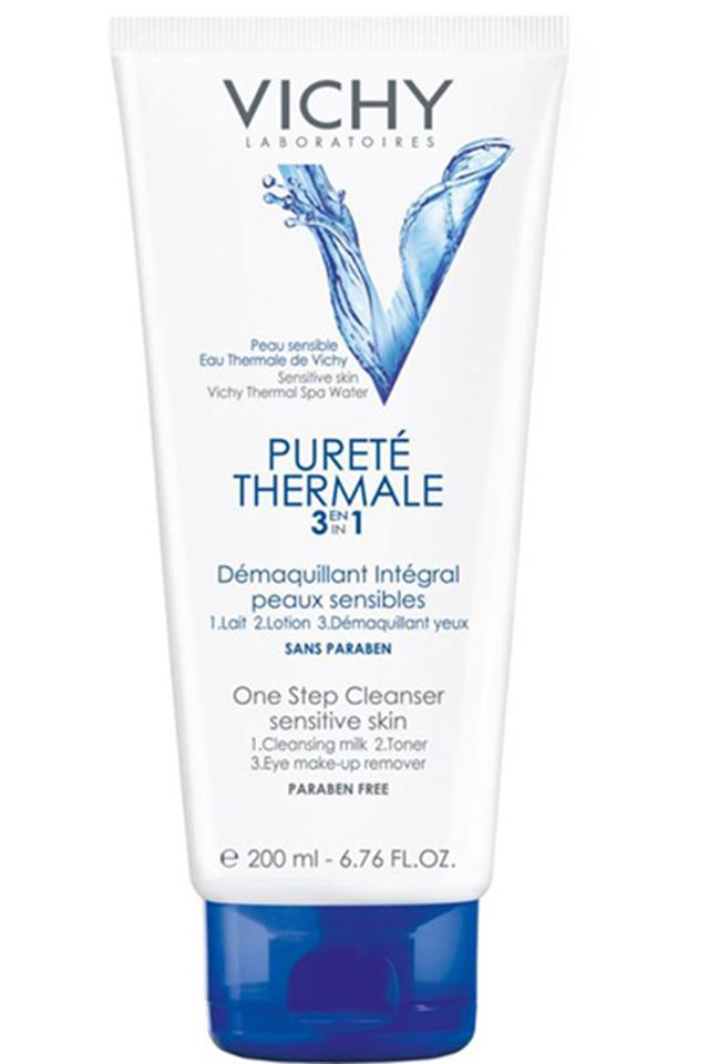 <strong>Vichy Pureté Thermale One Step Cleanser</strong> <br> <br> Thermal waters and micellar waters have always been popular in France, and now, the rest of the world is finally catching up and embracing the chic beauty secret. This mineral-charged cleanser is a must-try for super sensitive skin types.