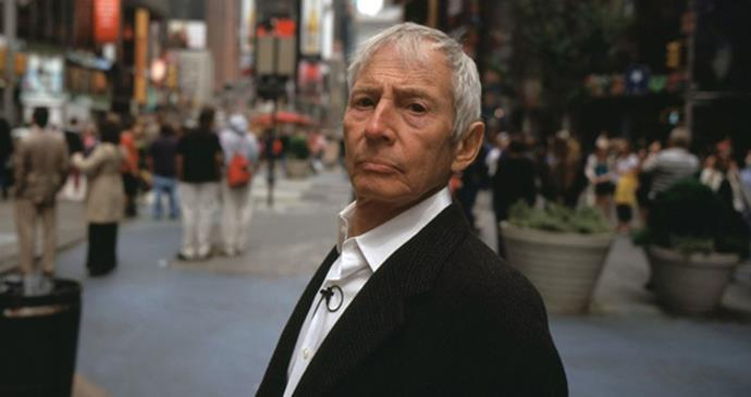 <strong>The Jinx: The Life and Deaths of Robert Durst (2015)</strong> <BR><BR> <strong>What kind?</strong> Crime, mystery <BR><BR> <strong>What's it about?</strong> The first interview that Robert Durst, a wealthy real estate icon who is the key suspect in a series of unsolved murders, has ever done—and will ever do.