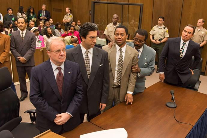 <strong>Inside Look: The People v. O.J. Simpson, American Crime Story (2016)</strong> <BR><BR> <strong>What kind?</strong> Crime, biography <BR><BR> <strong>What's it about?</strong> A TV mini-series looking at the O.J. Simpson murder trial.