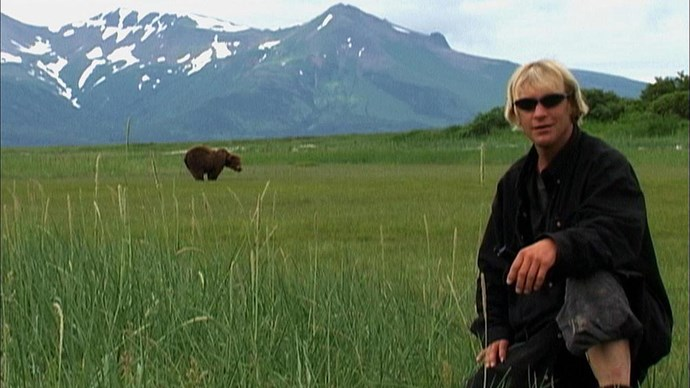 <strong>Grizzly Man (2005)</strong> <BR><BR> <strong>What kind?</strong> Animal, Biography <BR><BR> <strong>What's it about?</strong> A look at the two grizzly bear activists who were killed in 2003 while living among the bears in Alaska.