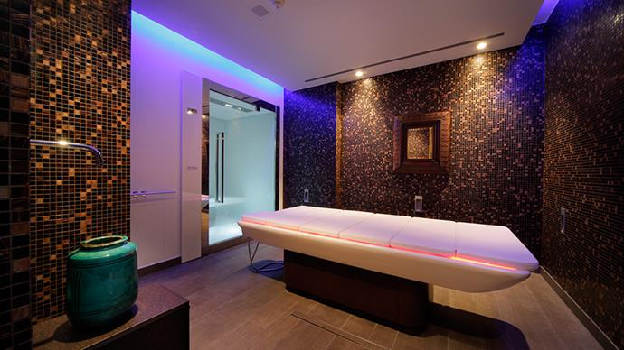 """<strong>Espace Henri Chenot</strong> <br> <br> The Palace Merano, is a five-star hotel based in Northern Italy, and home to the Espace Henri Chenot—a detox centre founded by wellness expert, Henri Chenot. <br> <br> There's a six-day minimum stay and your daily calorie intake is around 600. Treatments are carried out by doctors, acupuncturists, nutritionists—a huge team of specialists, and some of the treatments last all day long. The aim is to detox and reset your body, and that you do, following the principles of Biontology and Chinese medicine. <br> <br> <em><a href=""""http://www.palace.it/en/treatment-programmes.htm"""">The Palace Merano</a></em>"""