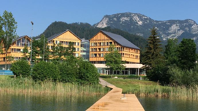 "<strong>The Vivamayr Health Hotel, Altaussee</strong> <br> <br> Based in Austria and surrounded by the central Alps, there's no prettier setting to unwind in. An obligatory medial detoxification plan is pre–booked for every person who stays at the Vivamayr clinic resort, and includes daily abdominal treatments, and an initial and final doctor's medical examination. <br> <br> A team of specialists tailor your program, which centers around the healing power of Altausee Glauber's salt source. Increased well-being, an improved immune system are guaranteed after a week here. <br> <br> <em><a href=""https://www.vivamayr.com/en/altaussee/"">Vivamayr, Altaussee</a></em>"
