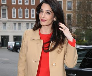 amal clooney maternity style file