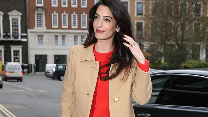 """No surprises that Amal Clooney's maternity style is every inch as stylish as her <a href=""""http://www.harpersbazaar.com.au/people-parties/the-a-list/2017/2/amal-clooney-style-file/"""">sartorial CV</a> might suggest. Step inside to see her best looks to date."""