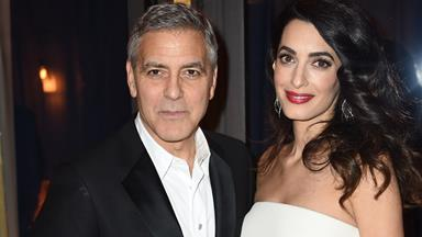 George Clooney Reveals How He's Preparing For Twins