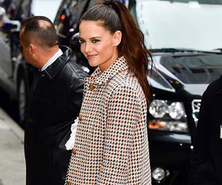 Katie Holmes Coat Style
