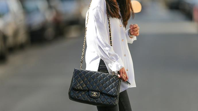 <strong>The Chanel 2.5<strong><br><br> Instantly recognisable, Chanel's iconic bag is yet to lose its allure, thanks to elegant timelessness and versatility.