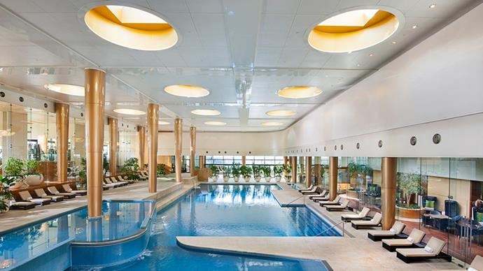 """<strong>Crown Metropol Isika Spa, VIC</strong> <BR><BR> Set 27 floors above Melbourne's CBD, Crown Spa comes complete with chakra-balancing massages, a high-rise pool, gym and sauna, and, wait for it, anti-ageing facials. <BR><BR> Find out more <a href=""""http://www.crownhotels.com.au/crown-spa-melbourne/"""">here</a>."""