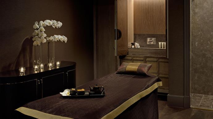 """<strong>The Langham, Sydney, NSW </strong> <BR><BR> Here you'll find a lavish day spa, filled with packages such as 'Volcanic Rebalance' and 'Champagne and Gold Indulgence', a health club and an indoor heated pool, which belongs on Instagram. <BR><BR> Find out more <a href=""""http://www.langhamhotels.com/en/the-langham/sydney/wellness/"""">here</a>."""