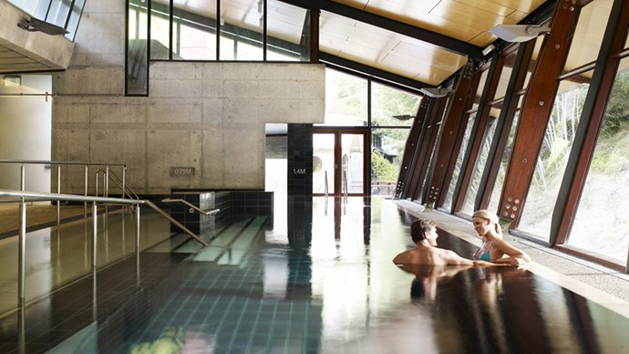 "<strong>Hepburn Bathhouse & Spa, VIC</strong> <BR><BR> Stop everything: The Hepburn Bathhouse currently has a 'Chocolate Indulge Ritual', which means this is exactly where you need to be for Easter. Haven't got a sweet tooth? Opt instead for a wellness mineral bath, spa steam therapy or a botanical rescue treatment. <BR><BR> Find out more <a href=""http://www.hepburnbathhouse.com/"">here</a>."