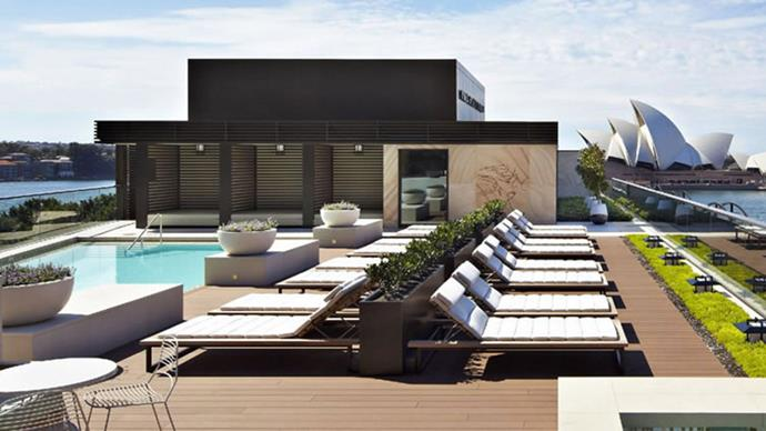 """<strong>Park Hyatt Sydney, NSW</strong> <BR><BR> Situated on the Sydney harbour, with unparalleled views, Park Hyatt comes complete with native clay and hot oil massages, thermal mineral body scrubs and ginger renewal spa cocoon. <BR><BR> Find out more <a href=""""https://sydney.park.hyatt.com/en/hotel/home.html"""">here</a>."""
