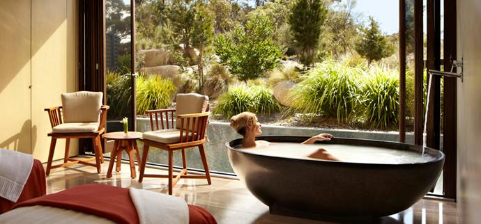 "<strong>Saffire Freycinet, TAS</strong> <BR><BR> This five-star retreat offers a world-class, full-service spa and health club, filled with personal yoga classes, meditation, and packages filled with holistic treatments. <BR><BR> Find out more <a href=""http://www.saffire-freycinet.com.au/default-en.html"">here</a>."