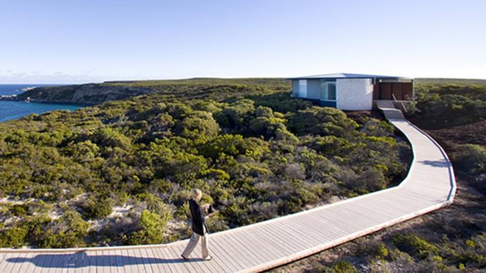 """<strong>Southern Ocean Lodge, SA</strong> <BR><BR> Located on Kangaroo Island, atop a secluded cliff and stunning, rugged coastlines, Southern Ocean Lodge exudes luxury. The spa menu includes Kodo Island rock massages, 'Sea Spirit' facials, and a Ligurian Honey and Almond wrap. <BR><BR> Find out more <a href=""""http://southernoceanlodge.com.au/"""">here</a>."""