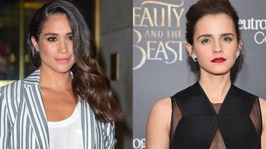 Meghan Markle And Emma Watson Star In A Photoshoot Together