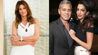 Cindy Crawford Gift For Clooney Twins