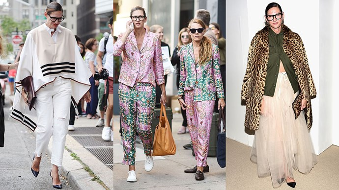 As Jenna Lyons announces her departure from J.Crew after 26 years, we reflect on her most iconic style moments to date.