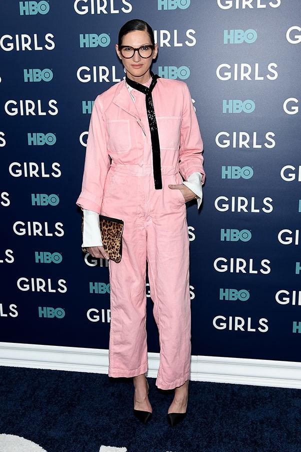 At the New York premiere of <em>Girls</em> season six.