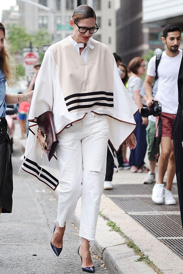 At New York fashion week.
