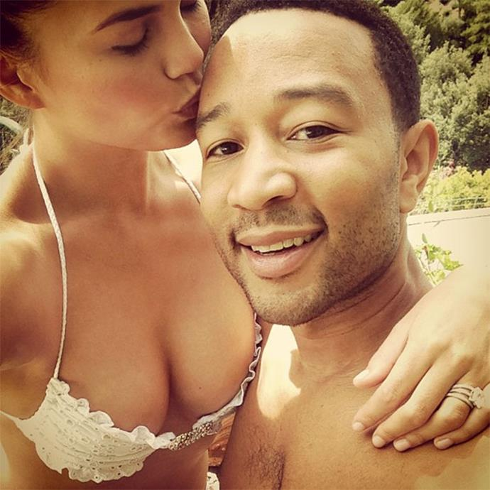 "<strong>Chrissy Teigen and John Legend</strong> <br><br> Italy is one of Hollywood's favourite honeymoon destinations—seriously, it seems like pretty much every famous couple made an Italian stop after their wedding, like Chrissy Teigen and John Legend. <br><br> Image: <a href=""https://www.instagram.com/p/eXAt-4pjYj/"">@chrissyteigen</a>"