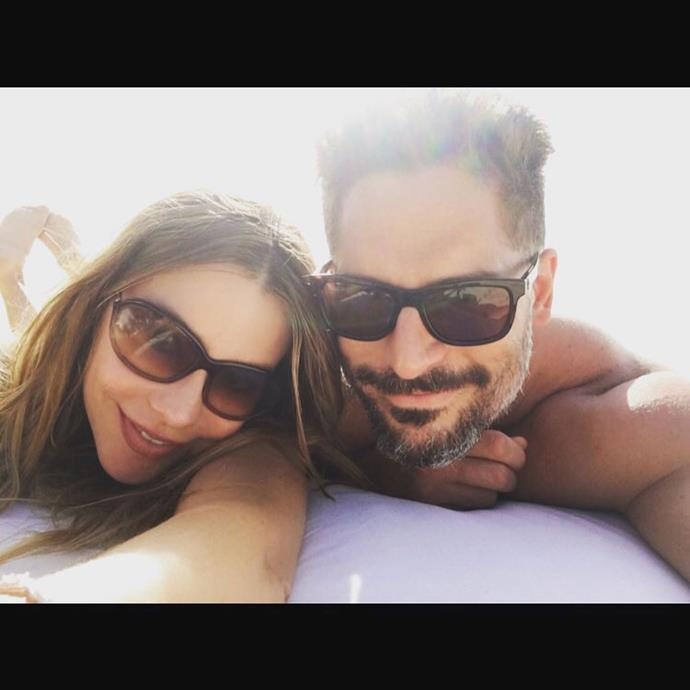 "<strong>Sofia Vergara and Joe Manganiello</strong> <br><br> Sofia Vergara and Joe Manganiello lapped up the sunshine in Turks and Caicos for their honeymoon. <br><br> Image: <a href=""https://www.instagram.com/p/-ui9kFLpXk/"">@sofiavergara</a>"