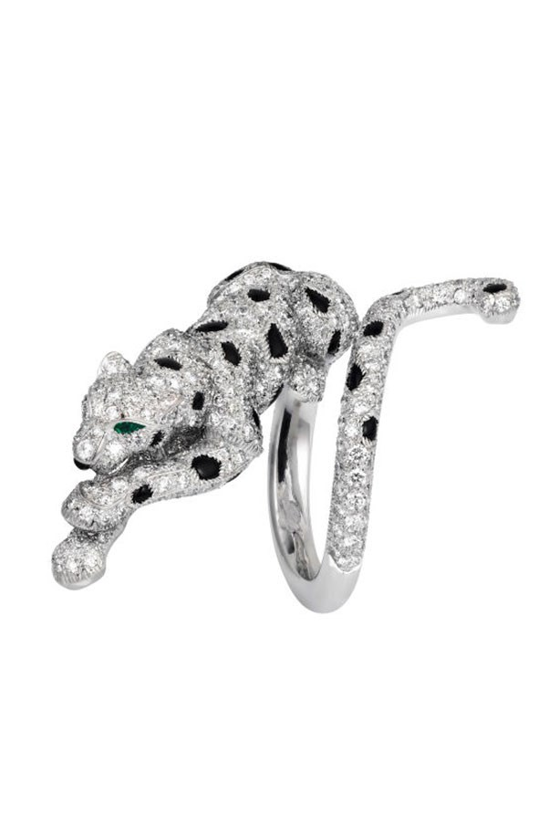 "<strong>The Panthère collection, Cartier.</strong> <p><p> For more than 100 years, the panther has been an icon of Cartier, worn by strong women such as the Duchess of Windsor and Maria Felix. Far from being inspired by the big cat itself, the collection was actually a tribute to Louis Cartier's lover, Jeanne Toussaint. A friend of Coco Chanel's, Toussaint met Cartier at the beginning of the 20th century and became the creative director of jewellery for the house in 1933. Her fierce determination led her to become known as 'the Panthère', an emblem that would become a symbol of powerful femininity. <p> The Panthère collection, available in store and online, <a href=""http://www.au.cartier.com/en-au/home/homepage.html?origin=Header"">Cartier</a>"