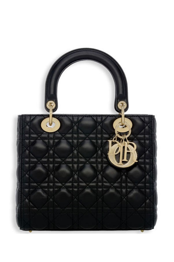 "<strong>The Lady Dior bag, Dior.</strong> <p><p> The Lady Dior bag was originally released in 1994 as the 'Chouchou', meaning 'favourite'. The next year the First Lady of France, Madame Bernadette Chirac, gave Lady Diana, Princess of Wales, this design from Dior and it quickly became one of the most famous bags of the era. Princess Diana was rarely seen without the bag, which subsequently gained the moniker the 'Lady D' or 'Lady Di'. In 1996, Dior renamed the accessory the Lady Dior, in tribute to the Princess. <p> Lady Dior bag, from approx. $3,390 AUD, <a href=""http://www.dior.com/couture/en_int/womens-fashion/leather-goods/my-lady-dior/lady-dior-bag-in-black-lambskin-customisable-shoulder-strap-17-34752"">Dior</a>"