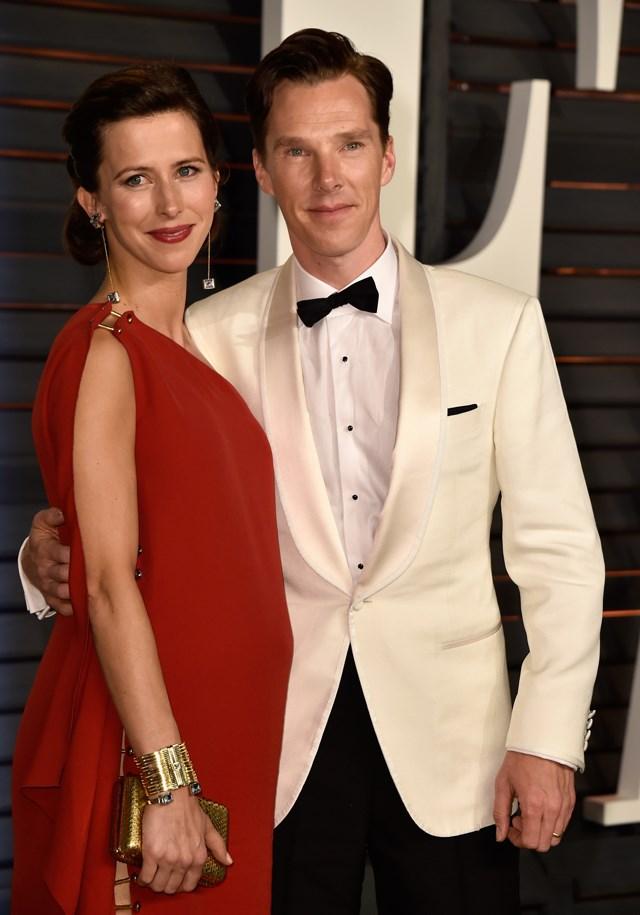 Benedict Cumberbatch and Sophie Hunter.