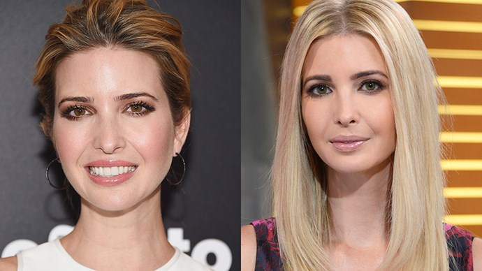 Ivanka Trump Changing Eye Colour