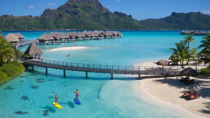 "Images via <a href=""http://thalasso.intercontinental.com/"">Intercontinental Bora Bora and Thalasso Spa</a>"