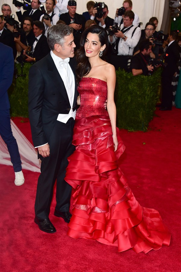 <strong>2015</strong> <br><br> When all eyes were on Amal Clooney. George who?