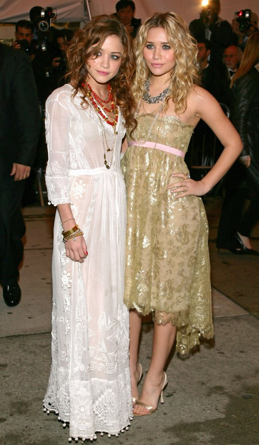 <strong>2005</strong> <br><br> When they first attended the Met Gala looking angelic as ever.