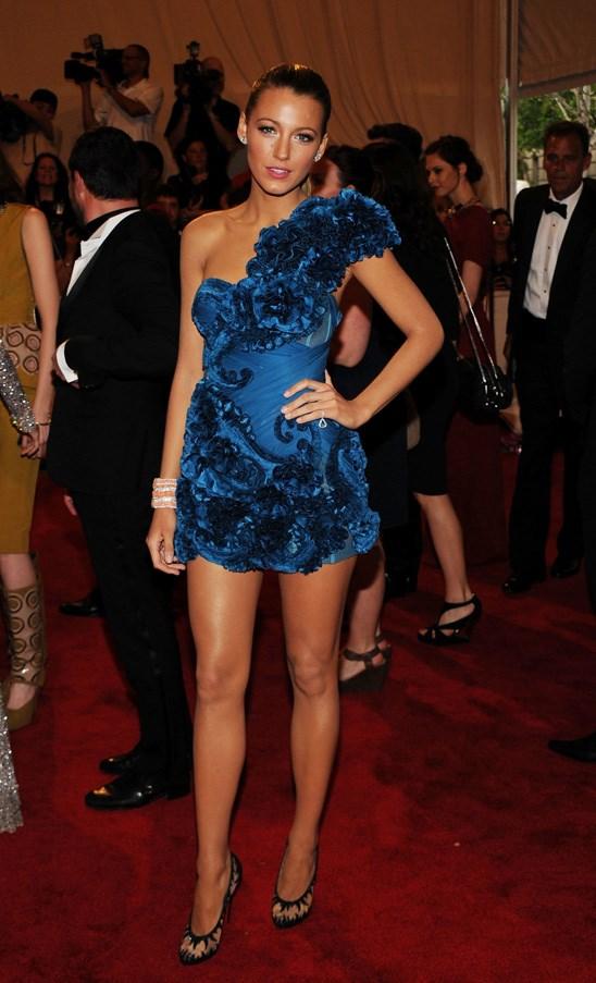 <strong>2010</strong> <br><br> When Blake Lively was in her <em>Gossip Girl</em> heyday and channeling Serena van der Woodsen.