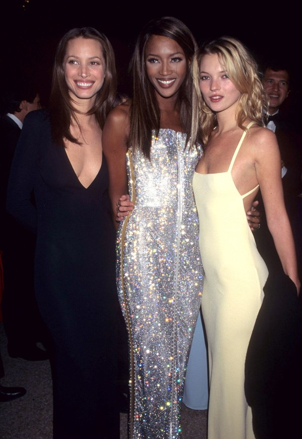 <strong>1995</strong> <br><br> When the OG supers, Christy Turlington, Naomi Campbell, and Kate Moss, joined forces.