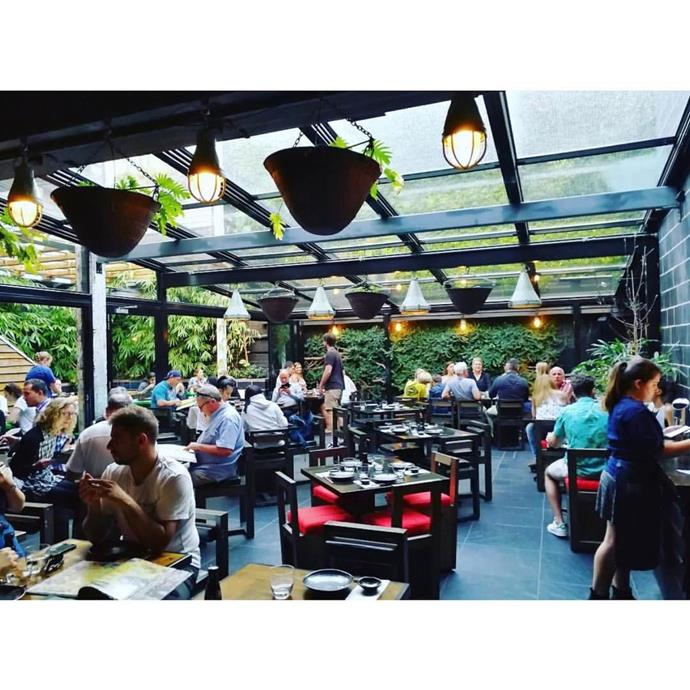 """<a href=""""http://ichininana.com.au/""""><strong>Ichi Ni Nana Izakaya</strong></a> <br><br> <strong>Location:</strong> Melbourne, VIC <br><br> An izakaya is a type of Japanese gastropub, a place that's perfect for an informal after-work meal or drink. Ichi Ni Nana Izakaya in Melbourne is a little fancier than the traditional ones you'd find in Japan, but that's what you want when you're eating the prettiest sushi platter you've ever seen. <br><br> <a href=""""https://www.instagram.com/p/BSdAMqygAlX/"""">@ichininanaizakaya</a>"""