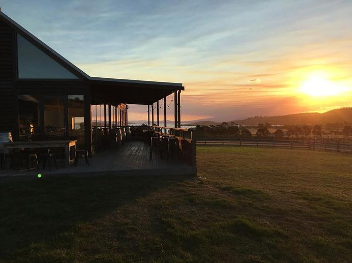 """<a href=""""http://www.bangorshed.com.au/""""><strong>Bangor Wine & Oyster Shed</strong></a> <br><br> <strong>Location:</strong> Dunalley, TAS <br><br> Set in a vineyard on a hill that overlooks the sea, there's no shortage of Instagram-worthy moments when you dine here. Bangor wines, freshly shucked oysters and local produce make up the food and drink—no complaints here. <br><br> <a href=""""https://www.instagram.com/p/BSmaKa9gjj_/"""">@bangorshed</a>"""
