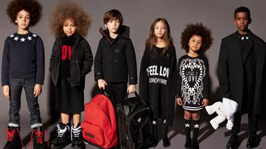 Givenchy Reveals Its Debut Childrenswear Collection