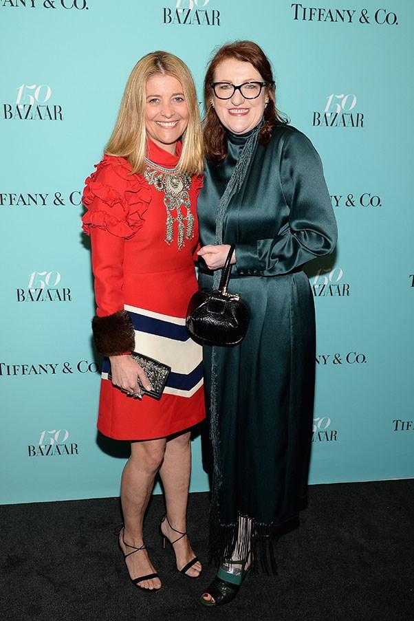 Kellie Hush and Glenda Bailey