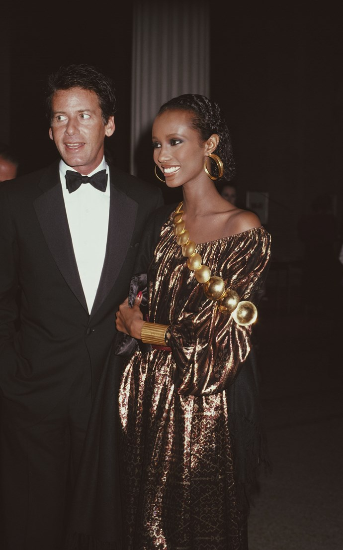 <p><strong>IMAN</strong> <p>1981