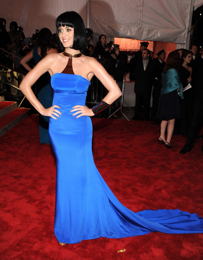 <p><strong>KATY PERRY</strong> <p>in Tommy Hilfiger, 2009