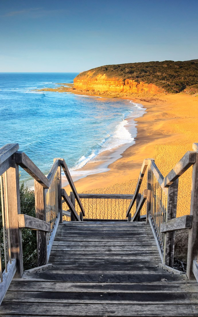 <p><strong>Bells Beach, Australia</strong> <p>This sandy coast is home to the world's longest-running surf competition, and showcases some of the biggest rip curls you'll ever see. High cliffs provide a dramatic backdrop to the natural amphitheater of this gorgeous Australian oasis.