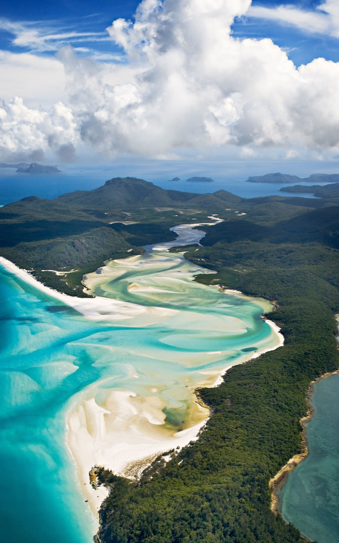 <p><strong>Whitehaven Beach, Australia</strong> <p>Australia's east coast is home to some legendary beaches—Whitehaven Beach in the Whitsundays is particularly heavenly. Over on the West Coast, Turquoise Bay in the Cape Range National Park is equally gorgeous. Just watch out for those sharks.