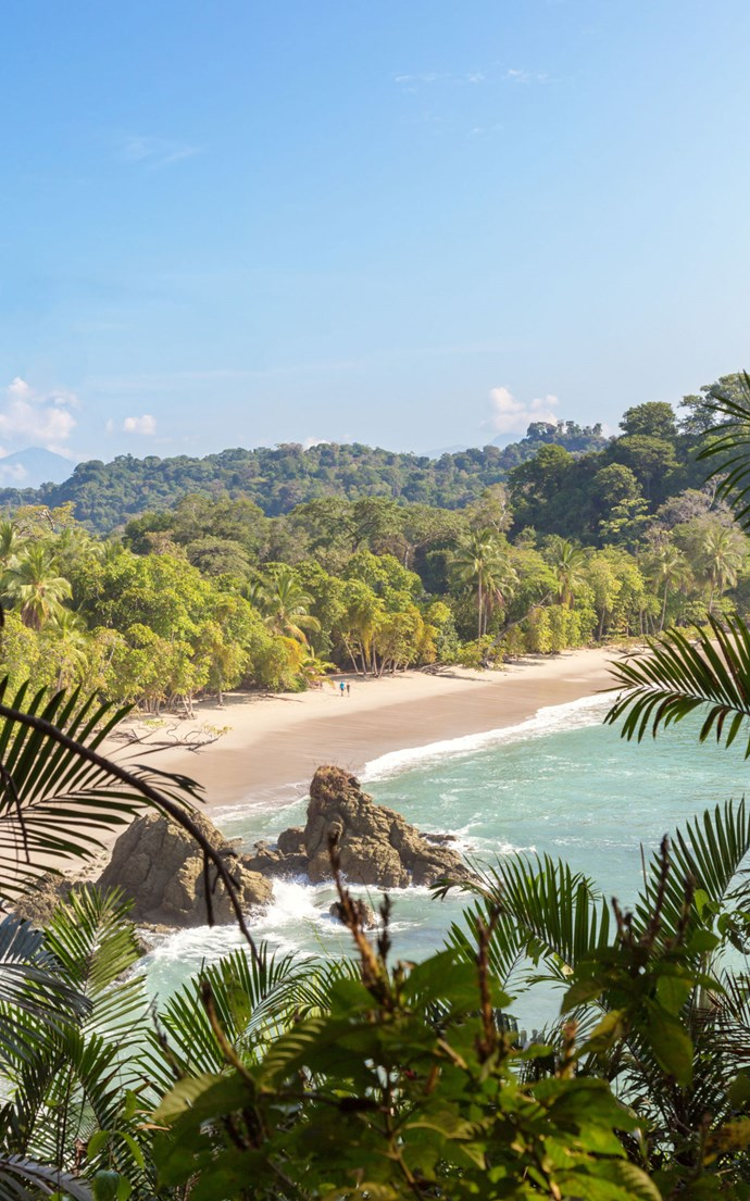 <p><strong>Playa Manuel Antonio, Costa Rica</strong> <p>Costa Rica has over 750 miles of shoreline, but Playa Manuel Antonio on the Pacific coast is one of the most popular.