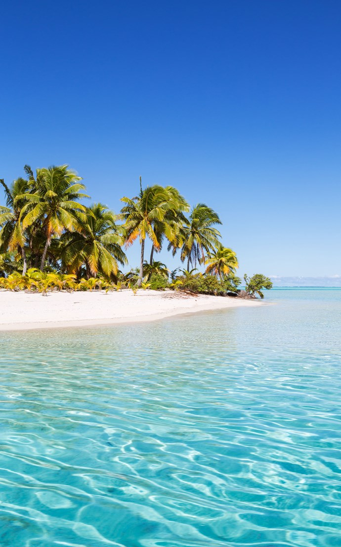 <p><strong>One Foot Island Beach, Cook Islands</strong> <p>Also called Tapuaetai, One Foot Island is exactly the place you want to be if you're looking for miles of secluded beaches.